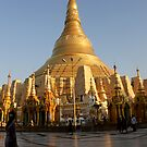 Shwedagon pagoda Burma/ Myanmar  by Peter Voerman