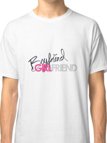 Boyfriend Girlfriend Classic T-Shirt