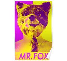 Fantastic Mr. Fox for president Poster