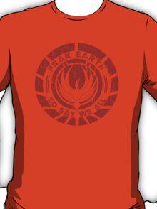Frak Earth / So Say We All - BSG T-Shirt