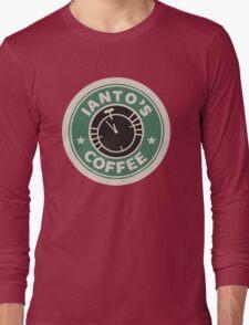 Torchwood - Ianto's coffee Long Sleeve T-Shirt