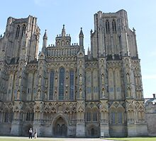 Wells cathedral by Sad-Robot