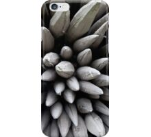 Wooden poles iPhone Case/Skin