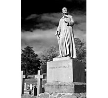 Statue of Andrew Melville Photographic Print