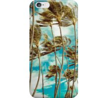 Hawaiian Palm Trees In The Wind iPhone Case/Skin