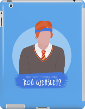 did somebody say ron weasley? by fadedrecords