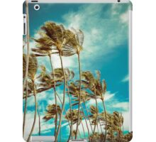 Hawaiian Palm Trees In The Wind iPad Case/Skin