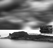 Waterscape B&W by biggago