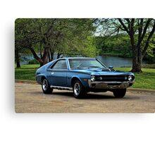 1970 AMC AMX Canvas Print