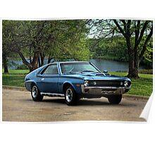 1970 AMC AMX Poster