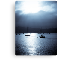 Deganwy Harbour Canvas Print