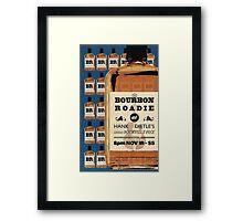"""""""Bourbon Roadie"""" Framed Print"""