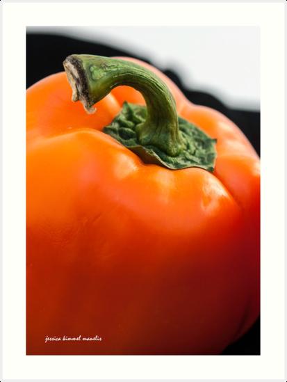 Orange Pepper by Jessica Manelis