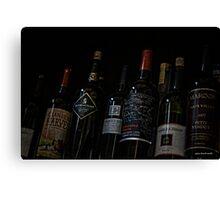 Liquor Cabinet Canvas Print