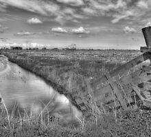 Frysian landscape by Ruben Emanuel