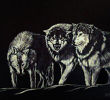 """""""The Wolves Are Here"""" by Susan Bergstrom"""