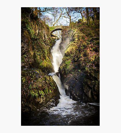 Aira Force Waterfall, Cumbria Photographic Print