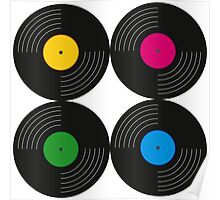Vinyl Record Collection Poster