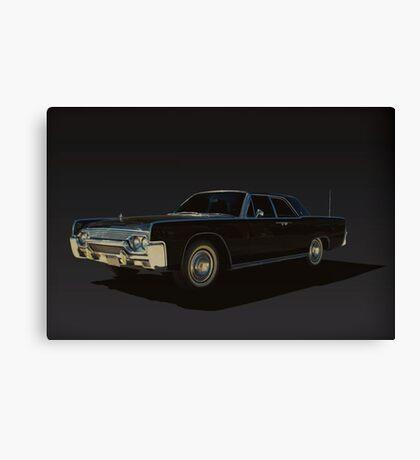 1961 Lincoln Continental Canvas Print