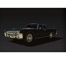 1961 Lincoln Continental Photographic Print