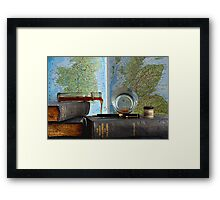 The Tipsy Scholar Framed Print
