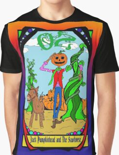 Jack and Sawhorse of OZ Graphic T-Shirt