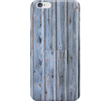 Old barn wall iPhone Case/Skin