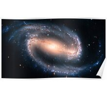Barred Spiral Galaxy Poster