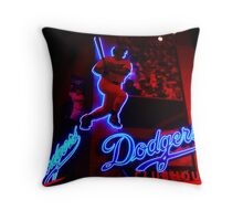 DODGERS CLUBHOUSE Throw Pillow