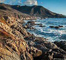 Sunset on California Coast - Garrapata State Park by GeorgeBuxbaum