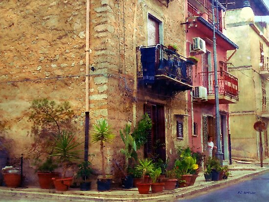 A Corner in Sicily by RC deWinter