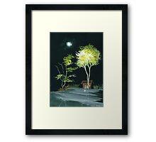 Drive Inn Framed Print