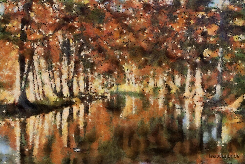Reflections of Autumn by leapdaybride
