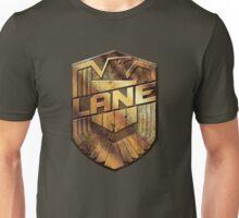 Custom Dredd Badge - (Lane) Unisex T-Shirt