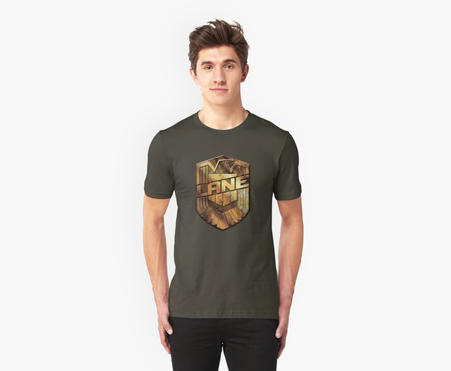 Custom Dredd Badge - (Lane) by CallsignShirts