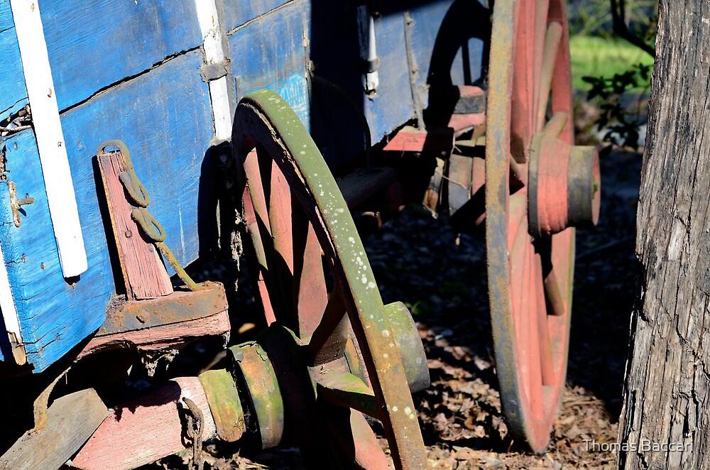 Broken Down Wagon by TJ Baccari Photography