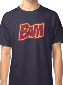BAM Comic Sound Effect T-Shirt - Red Classic T-Shirt