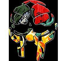 MF Doom Graffiti Photographic Print