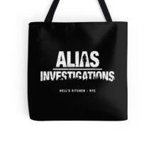 Alias Investigations (aged look) Tote Bag