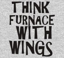 Think Furnace With Wings by woodlandfaeries