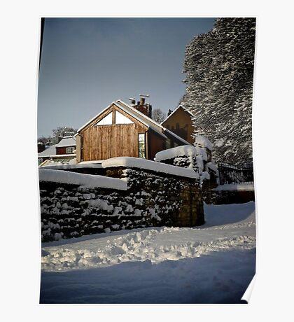 Settled Snow Poster
