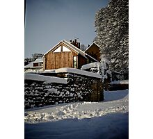 Settled Snow Photographic Print