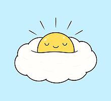 Sunny Side Up - Egg Cloud by kimvervuurt