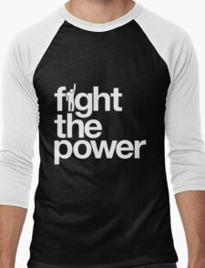 Fight the Power Men's Baseball ¾ T-Shirt