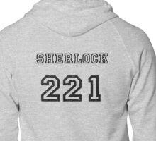 SHERLOCK 221 Zipped Hoodie