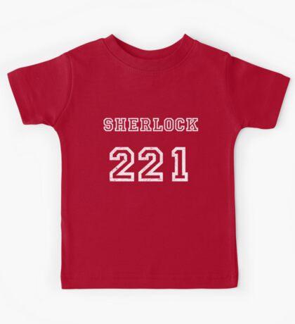 SHERLOCK 221 Kids Tee