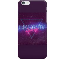 Made in the 80's iPhone Case/Skin