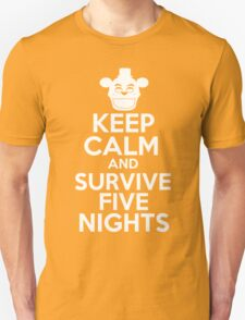 Keep Calm And Survive Five Nights T-Shirt