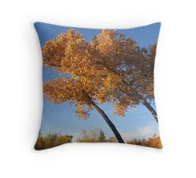 Bosque Del Apache Throw Pillow