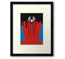 Spider-Man Symbiote Framed Print